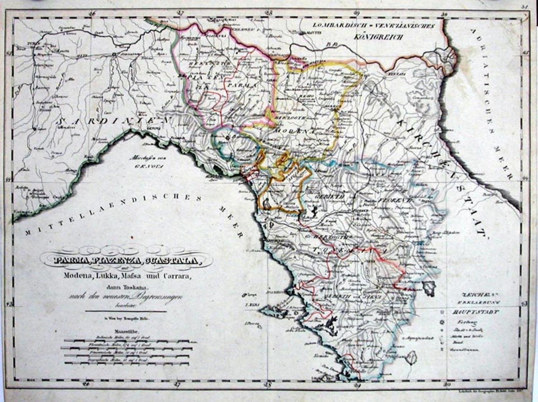 SOLD Parma, Piazenza, Guastala mit Modena …