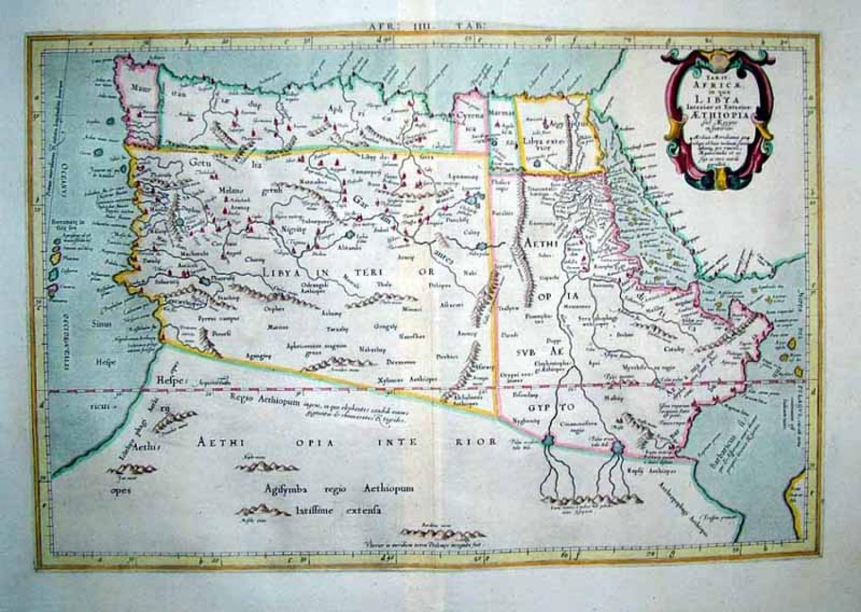 Mercator - Tab. IV Africae
