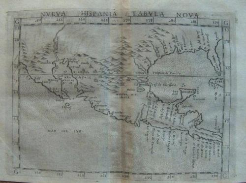 SOLD Neuva Hispania Tabula Nova