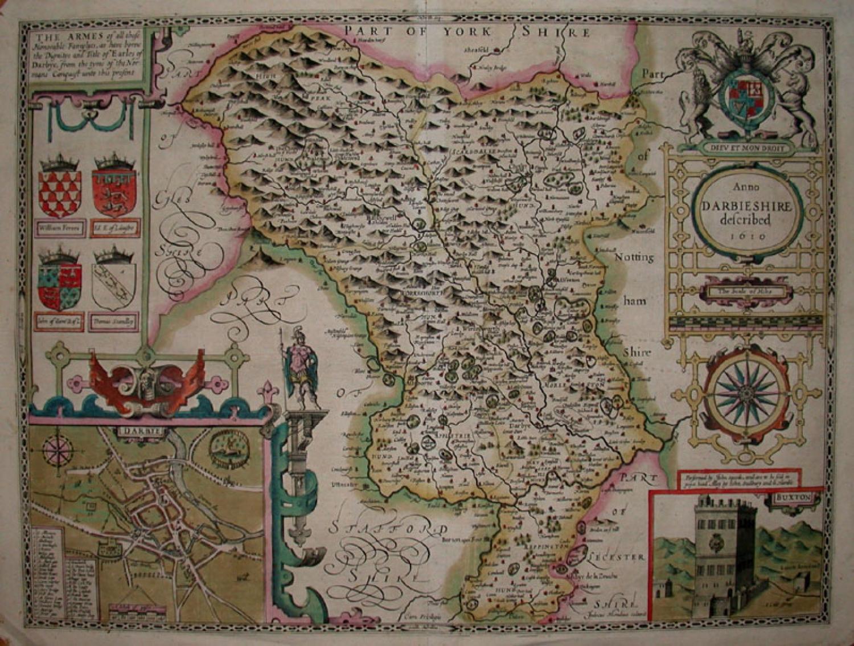 SOLD DARBIESHIRE described Anno 1610