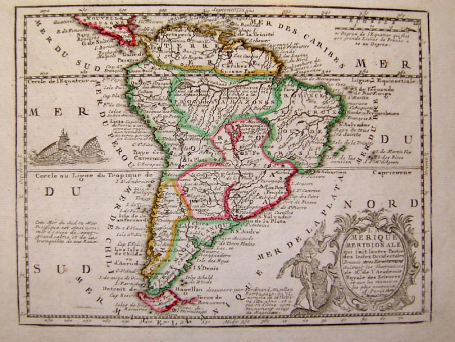 Chicquet - L'Amerique Meridionale
