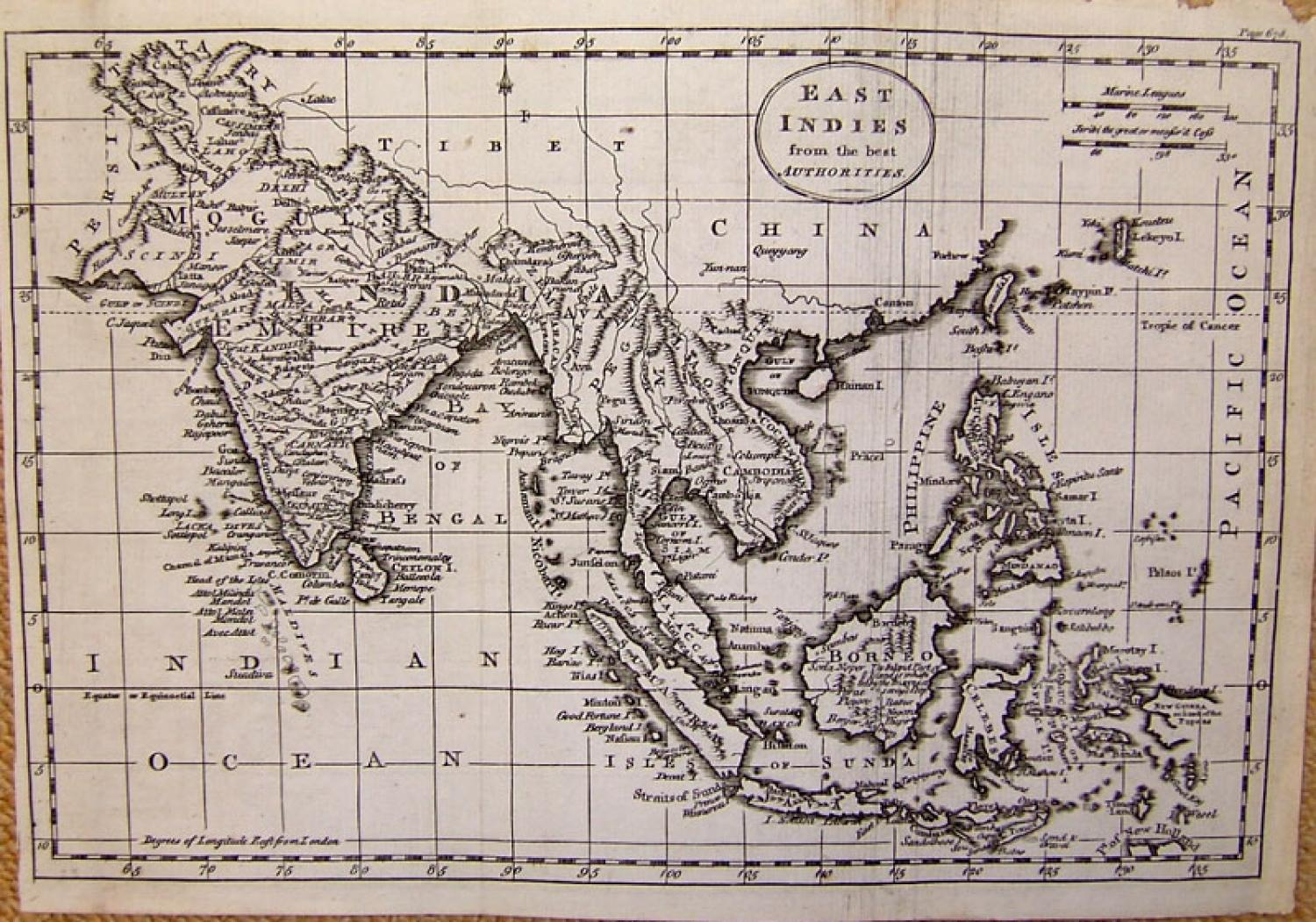 SOLD East Indies from the Best Authorities