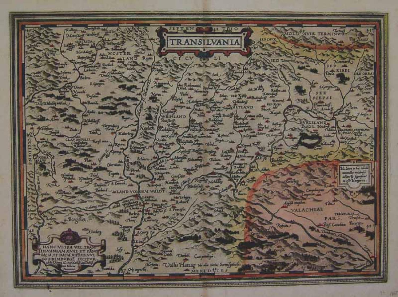 Ortelius - Transilvania