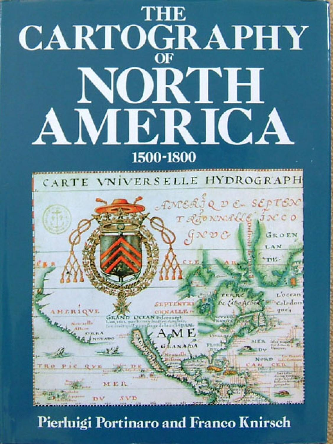 SOLD The Cartography of North America