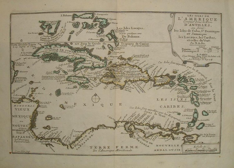 De Fer - Les Isles De L'Amerique