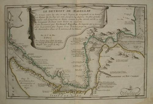 De Fer - Le Detroit de Magellan...