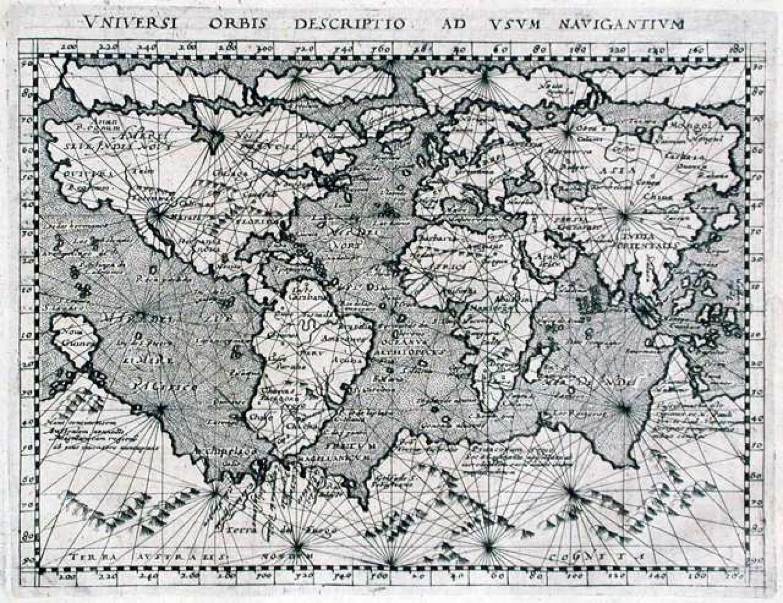 SOLD Universi Orbis Descriptio ad usum Navigantium