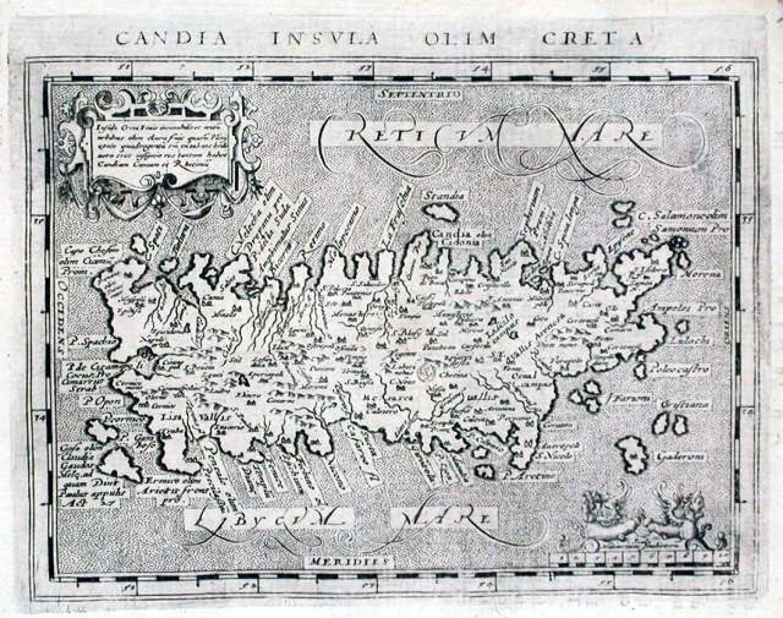 SOLD Candia Insula olim Creta