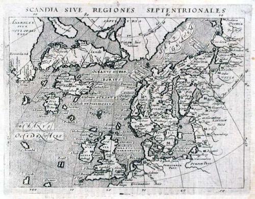 SOLD Scandia sive Regiones Septentrionales