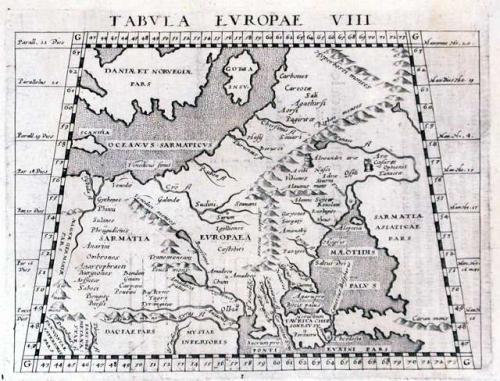 SOLD Tabula Europae VIII