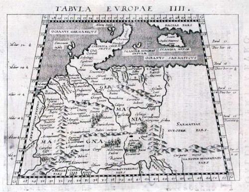 SOLD Tabula Europae IIII