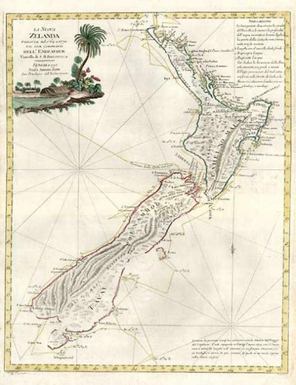SOLD La Nuova Zelanda
