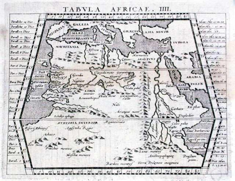 SOLD Tabula Aphricae IIII
