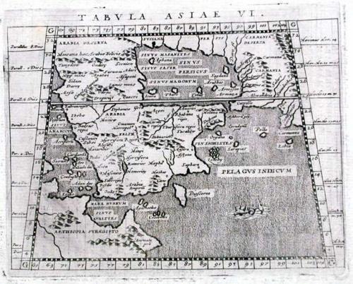 Magini - Tabula Asiae VI