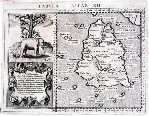 SOLD Title: Tabula Asiae XII