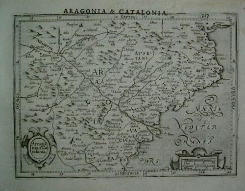 Hondius - Aragonia & Catalonia