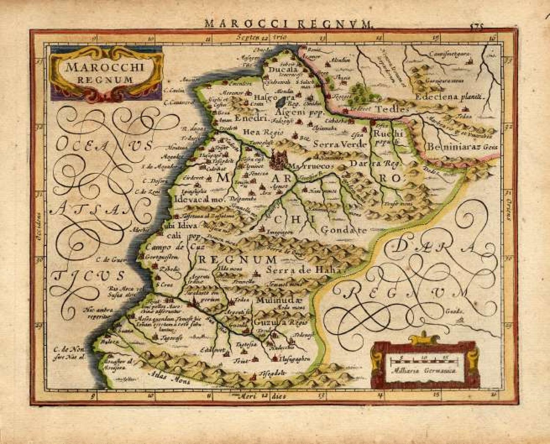 Mercator / Jansson - Marocchi Regnum