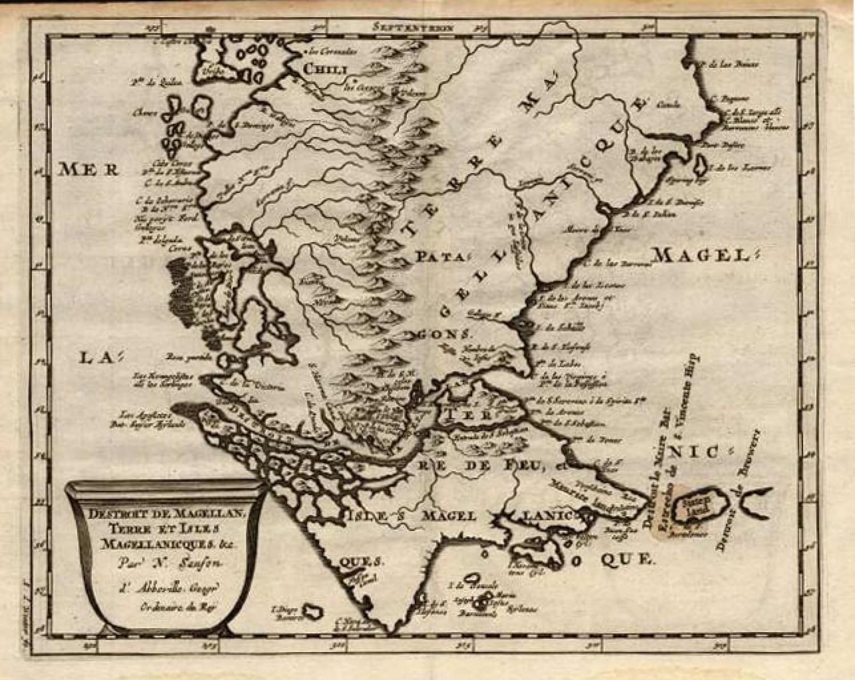 SOLD Destroit de Magellan