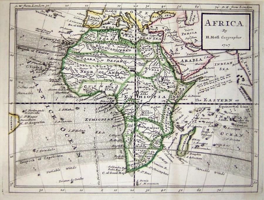 Moll - America, Asia, Europe, Africa