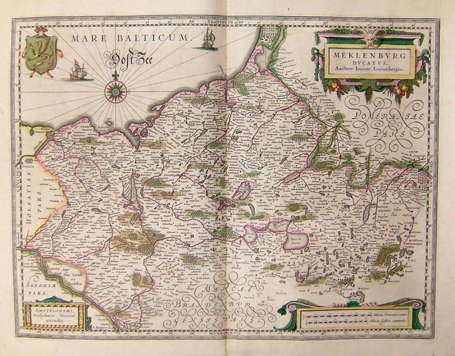 Blaeu - Mecklenburg Ducatus