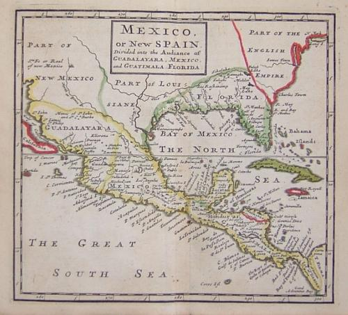 Moll - Mexico or New Spain...