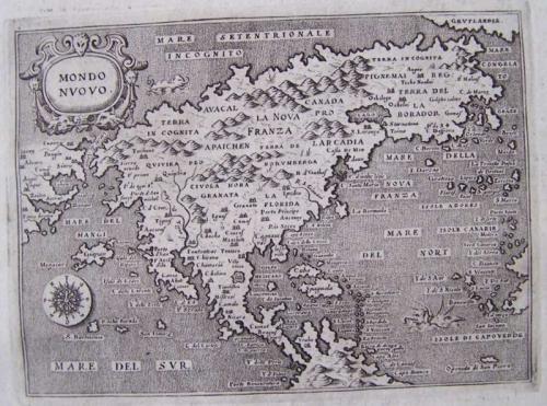 SOLD Descrittione dell'Isola et Terra di Santa Croce, overo Mondo Nuovo
