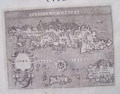 Porcacchi - Descrittione dell'Isola Cuba