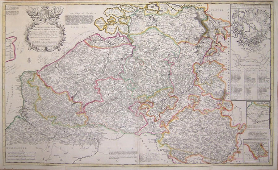 Moll - A Most Exact Map of Flanders