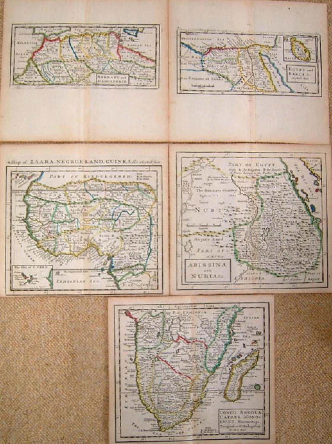 SOLD (Set of 5) African Continent