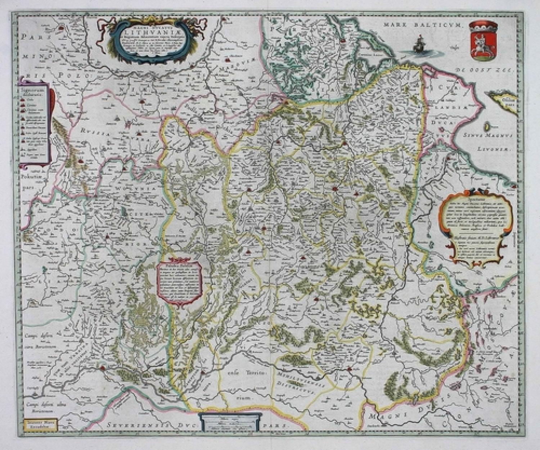 SOLD Magni Ducatus Lithuaniae et Regionum adiacentium exacta descriptio