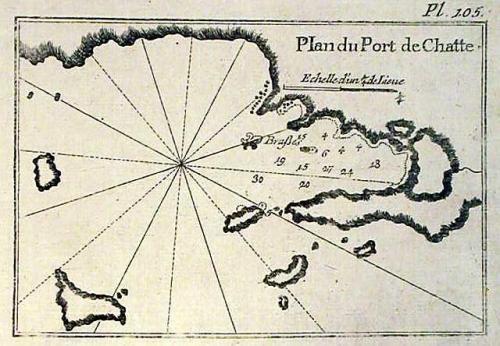 SOLD Plan du Port de Chatte