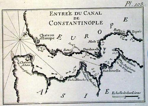 SOLD Entree du canal de Constantinople