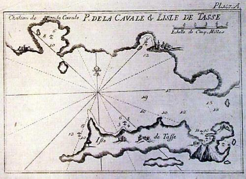 SOLD P. de la Cavale & l'isle de Tasse