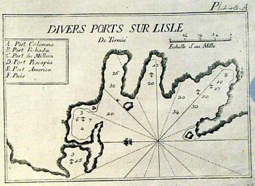 SOLD Divers Ports sur l'isle de Termie