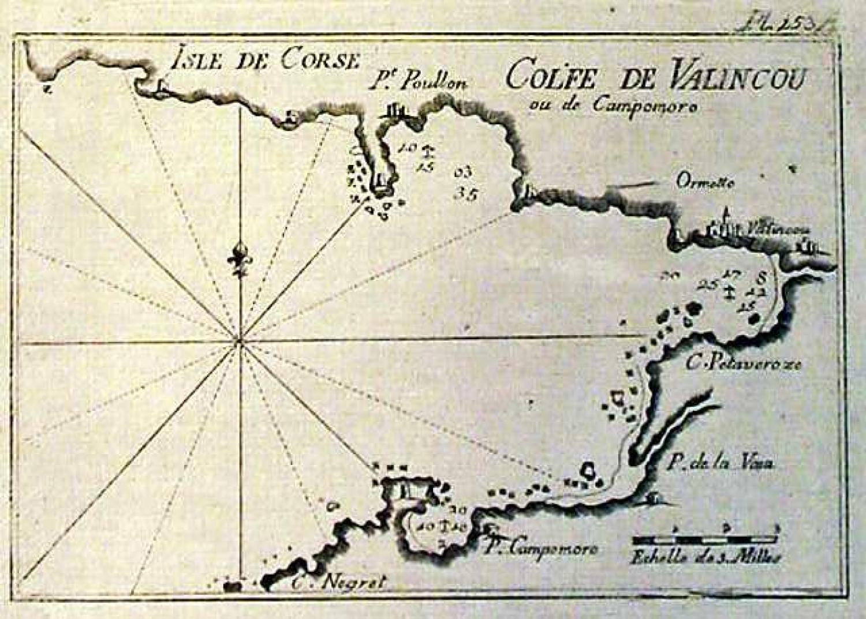 SOLD Isle de Corse, Golfe de Valincou