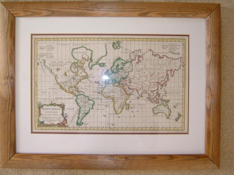 Vaugondy - Mappe Monde