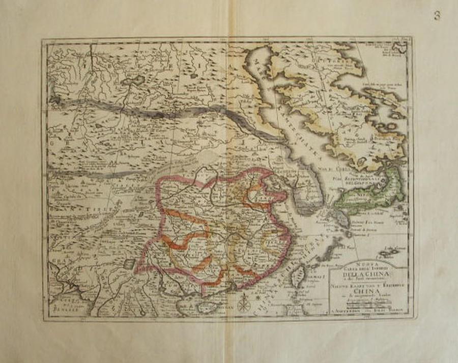 Tirion - Nuova Carta Imperio della China...