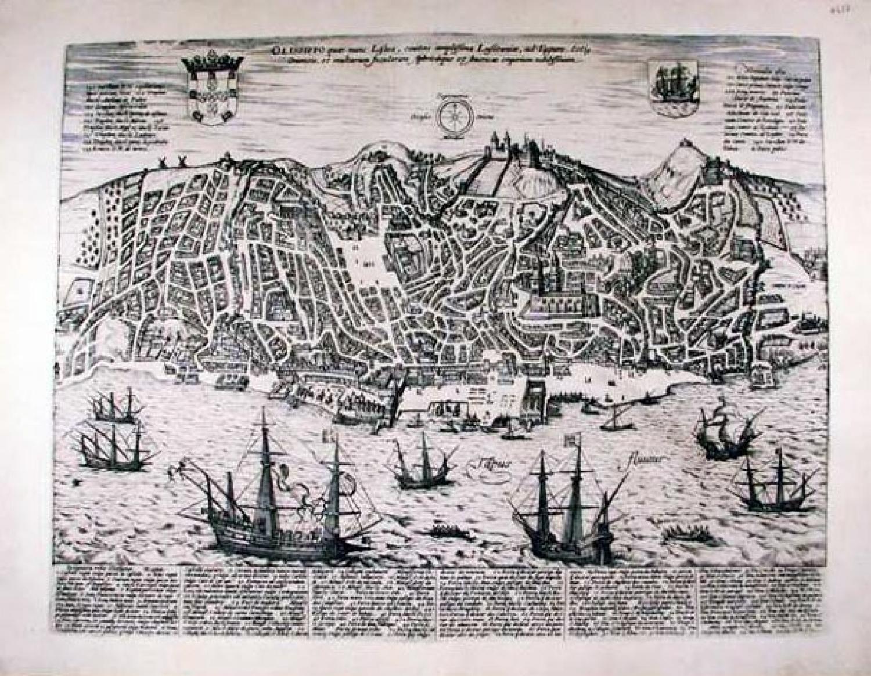 SOLD Olissippo quae nunc Lisboa ciuitas amplissima Lusitanie, ad Tagum. ...