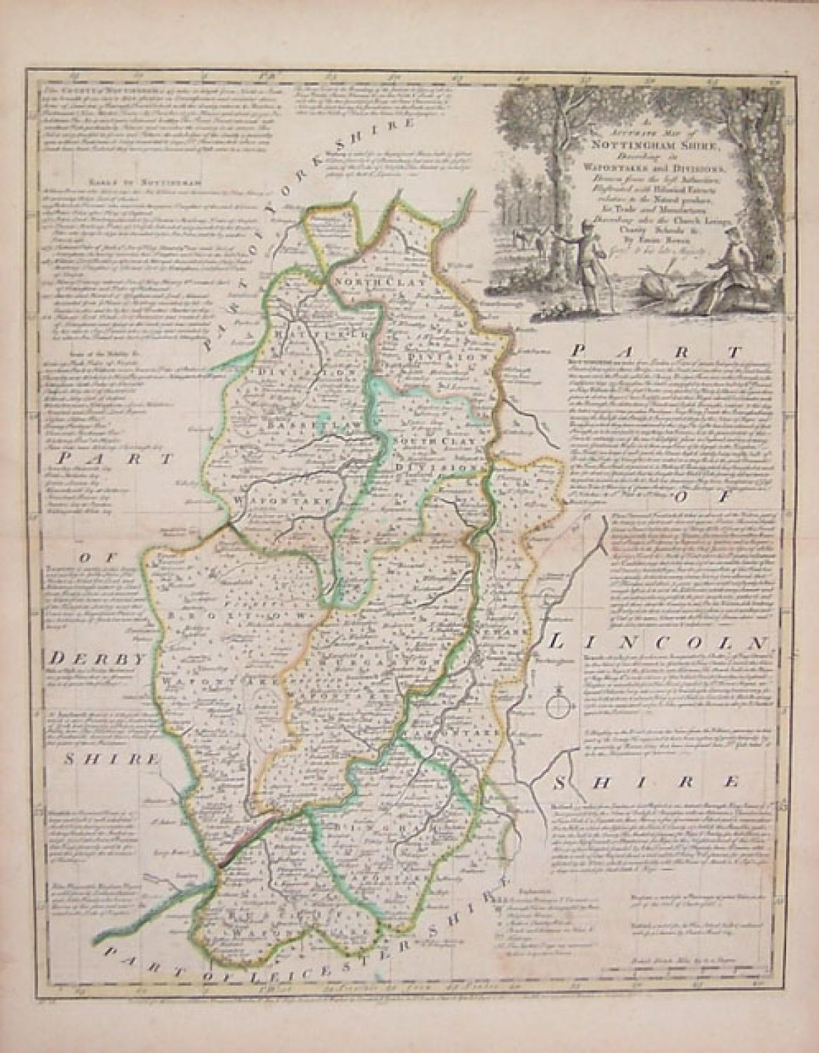 Bowen - The County of Nottinghamshire
