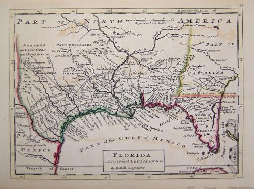SOLD Florida called by ye French Louisiana