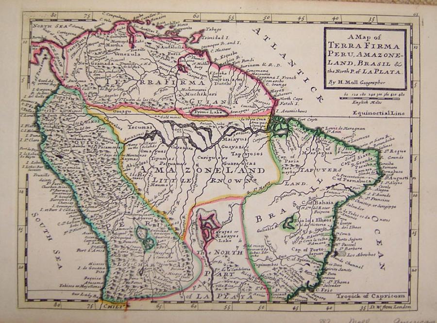 Moll - A Map Of Terra Firma...
