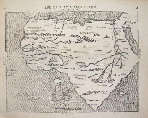 SOLD Africa Tertia Pars Terrae Septentrio