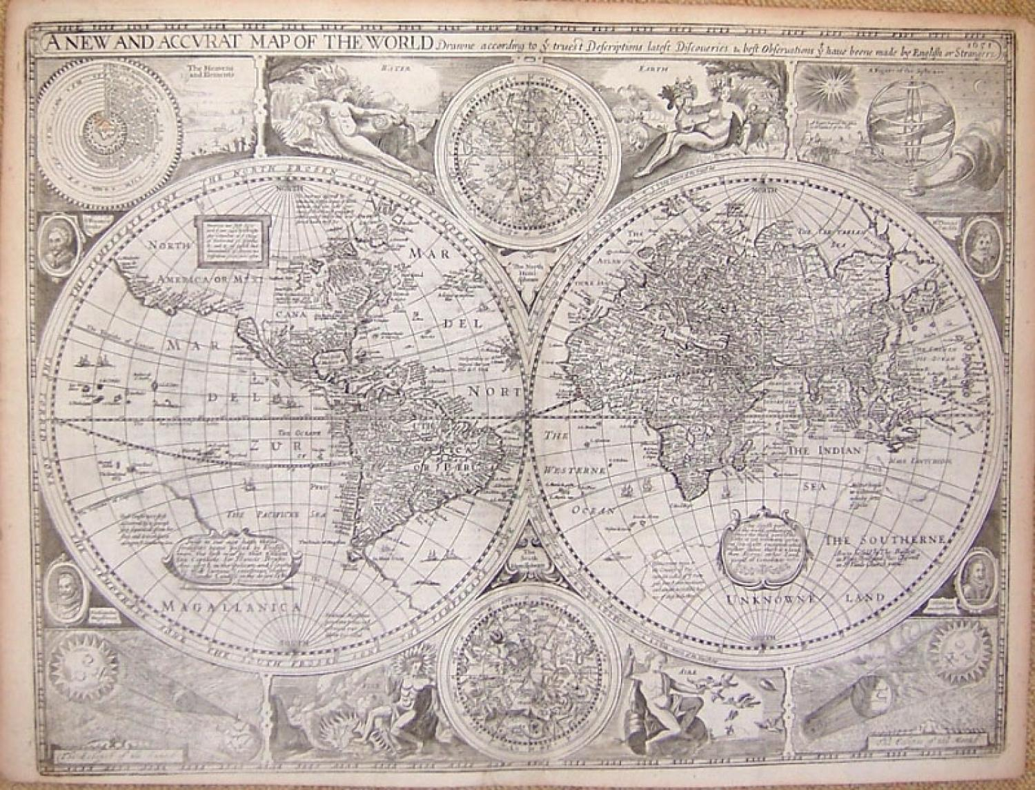 SOLD A New & Accurat Map of the World