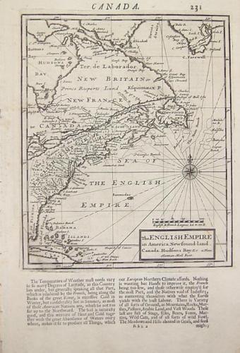 Moll - The English Empire in America...