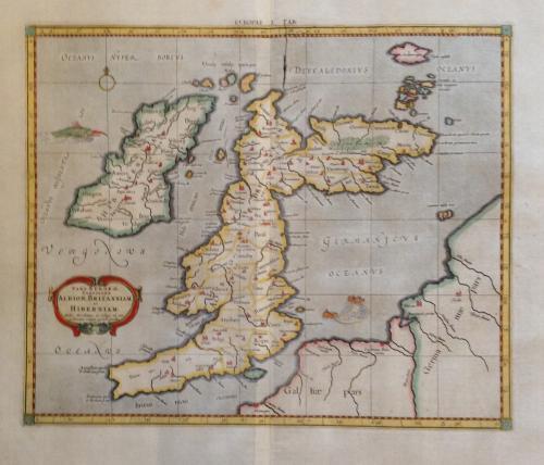 Mercator - Albion, Britanniam et Hiberniam