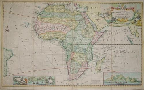 SOLD This map of Africa