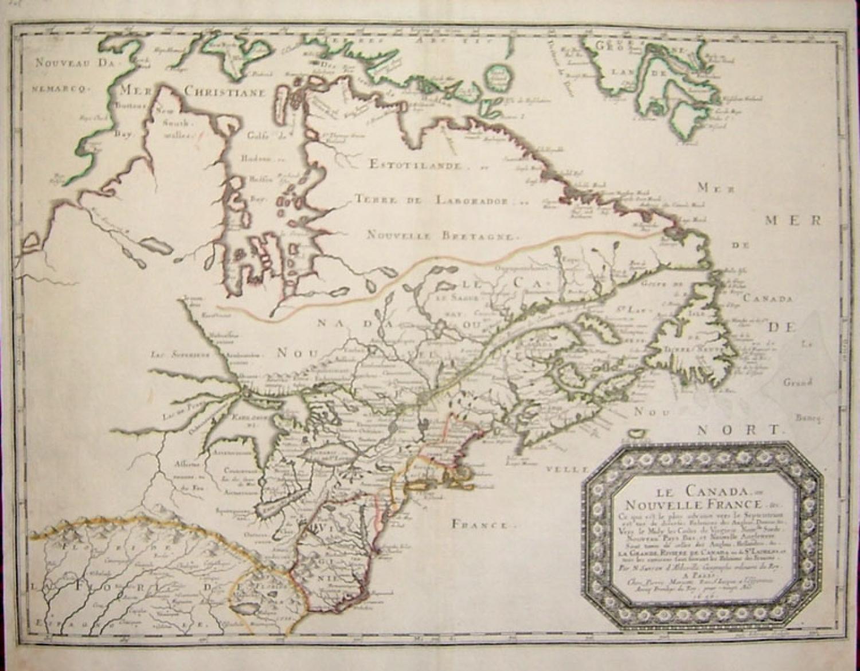 SOLD Le Canada ou Nouvelle France &c.