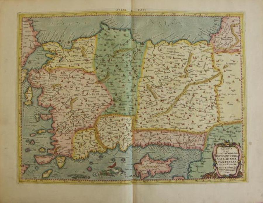 Mercator - Tab. I. Asiae
