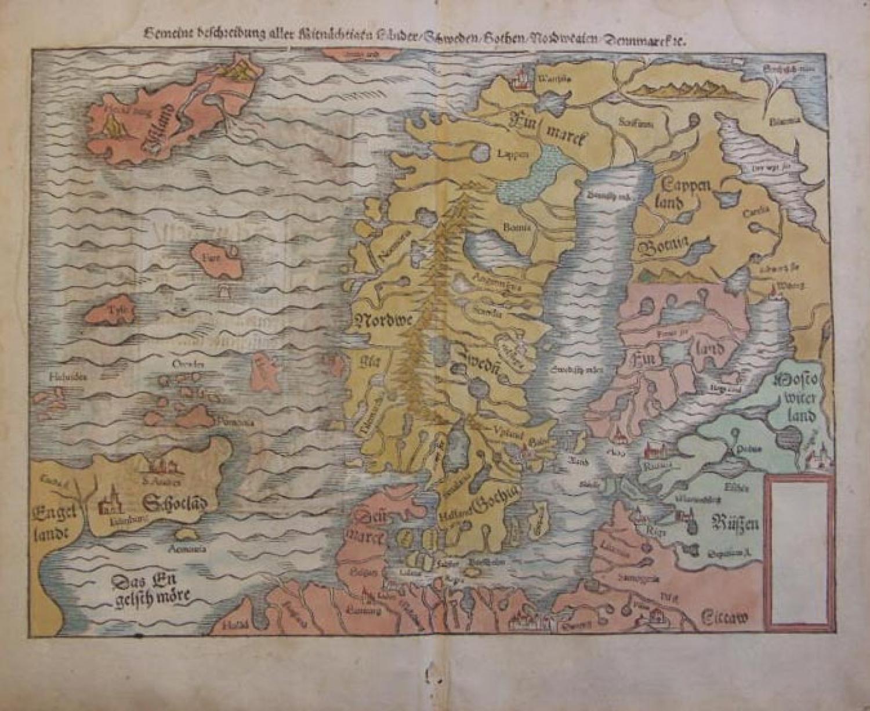 SOLD Gemeine beschreibung ...Schweden / Gothen / Norwegien / Denmarck...'