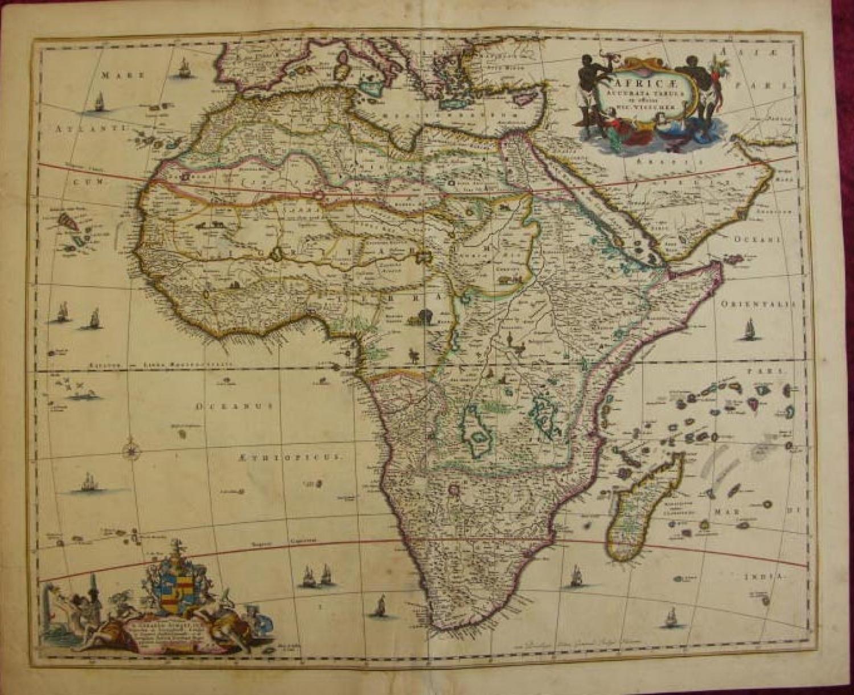 SOLD Africae Accurata Tabula ex officina..